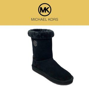 Michael Kors Women's Suede Mid-Calf Winter Boots